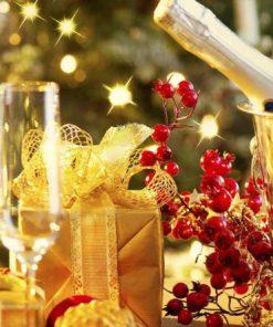 víno na vánoce