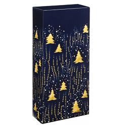 vánoční krabička modrá