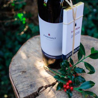 Víno a čokoláda Bergmann